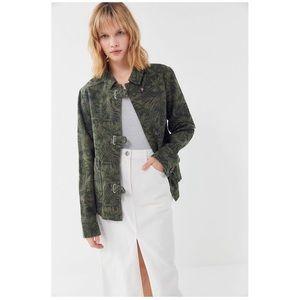 UO Palm Print Work Jacket